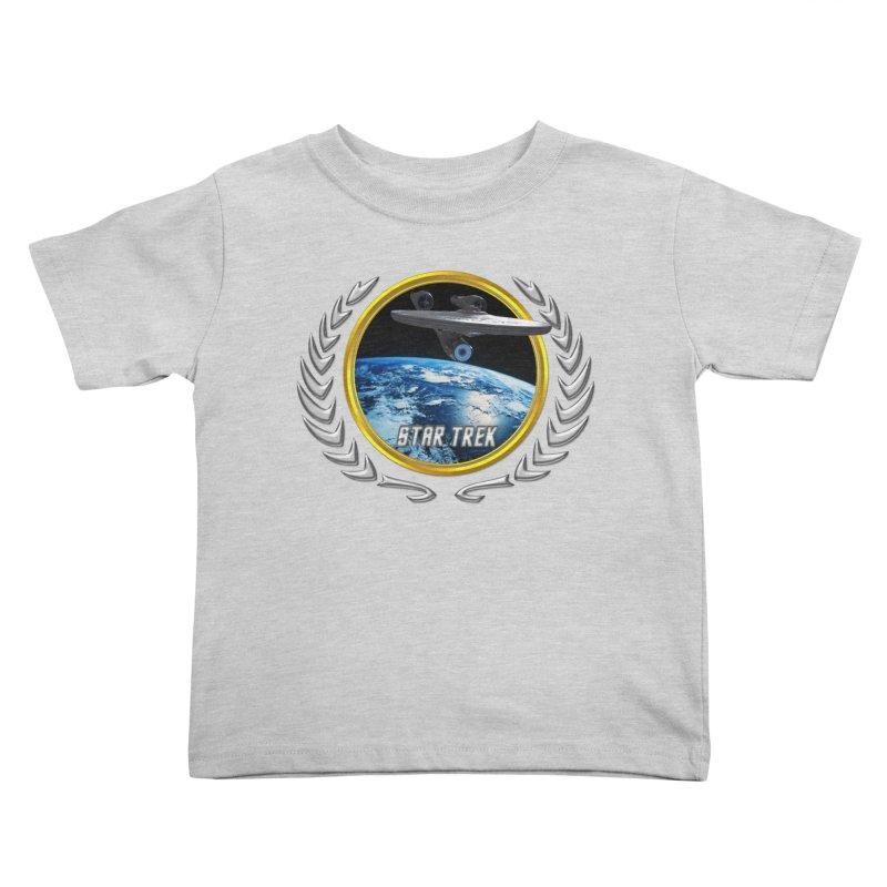 Star trek Federation of Planets Enterprise 2009 Kids Toddler T-Shirt by ratherkool's Artist Shop