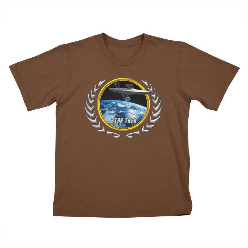 Star trek Federation of Planets Enterprise 2009 Kids T-Shirt by ratherkool's Artist Shop