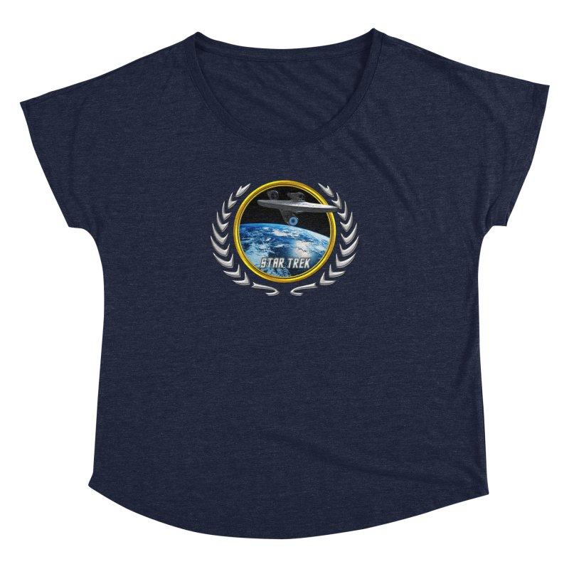 Star trek Federation of Planets Enterprise 2009 Women's Dolman by ratherkool's Artist Shop