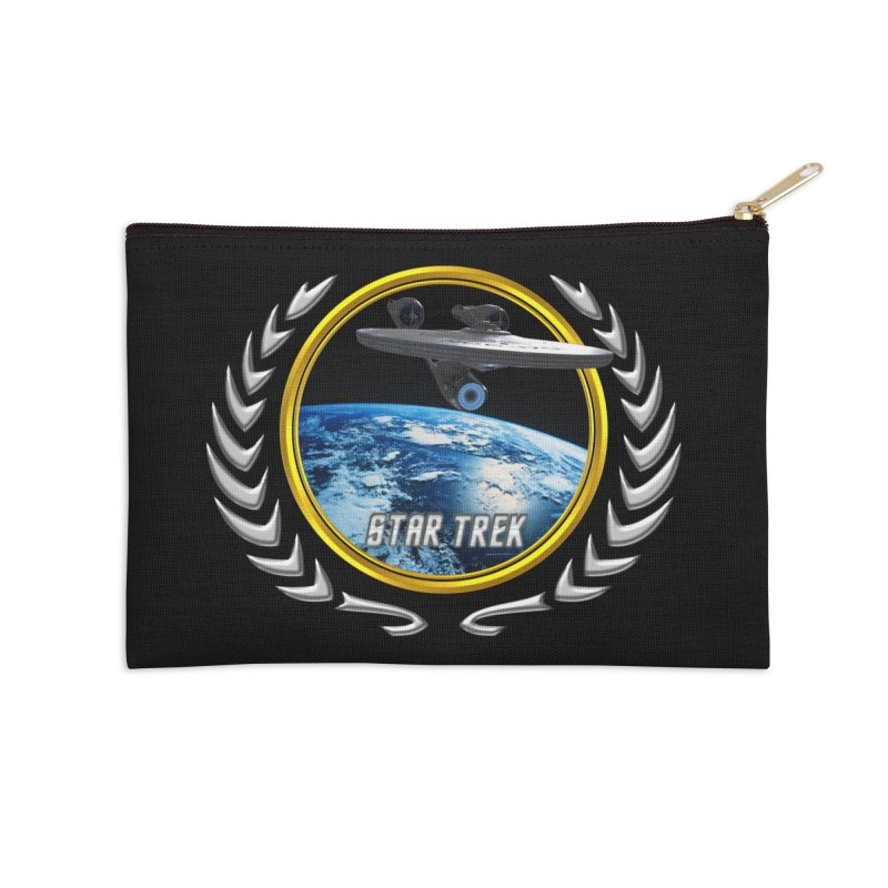 Star trek Federation of Planets Enterprise 2009 Accessories Zip Pouch by ratherkool's Artist Shop