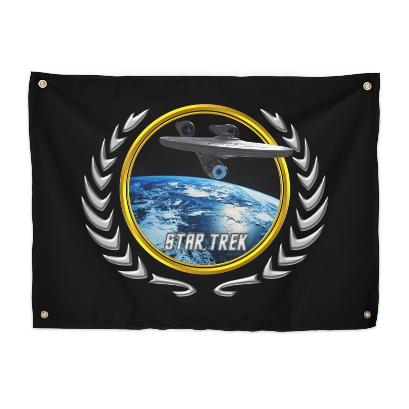 Star trek Federation of Planets Enterprise 2009 Home Tapestry by ratherkool's Artist Shop