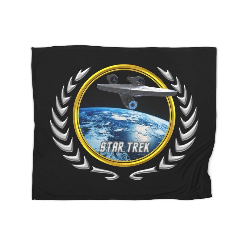 Star trek Federation of Planets Enterprise 2009 Home Blanket by ratherkool's Artist Shop