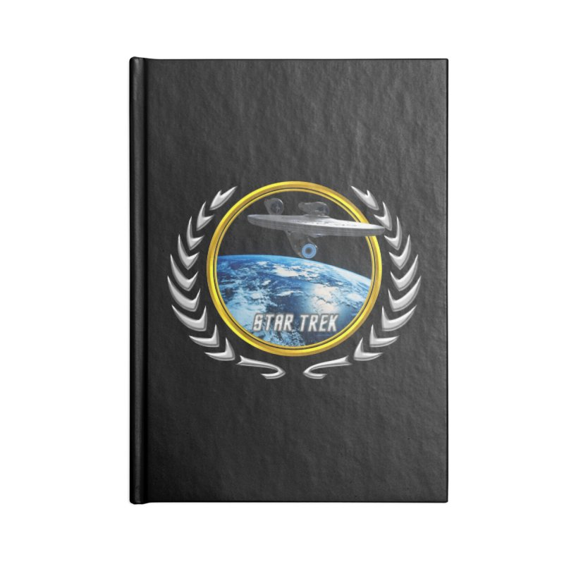 Star trek Federation of Planets Enterprise 2009 Accessories Notebook by ratherkool's Artist Shop