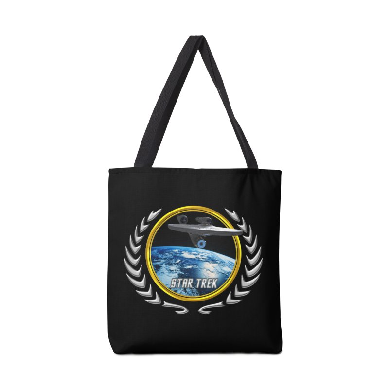 Star trek Federation of Planets Enterprise 2009 Accessories Bag by ratherkool's Artist Shop
