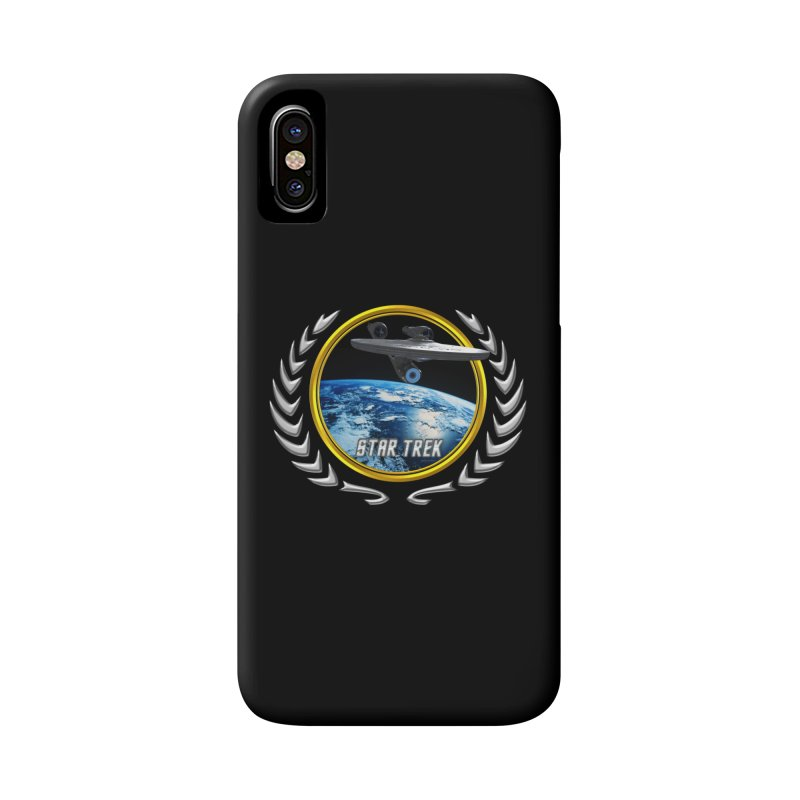 Star trek Federation of Planets Enterprise 2009 Accessories Phone Case by ratherkool's Artist Shop