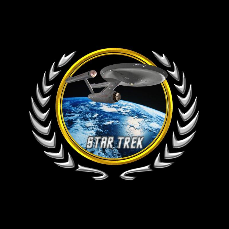 Star trek Federation of Planets Enterprise 1701 old by ratherkool's Artist Shop