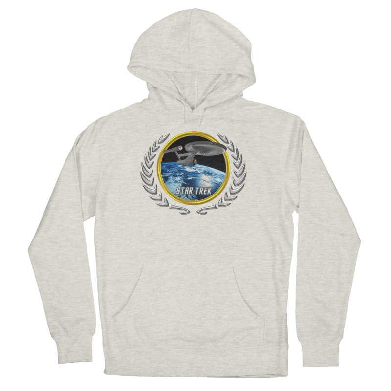 Star trek Federation of Planets Enterprise 1701 old Men's Pullover Hoody by ratherkool's Artist Shop
