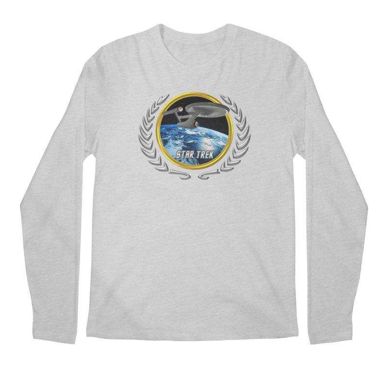 Star trek Federation of Planets Enterprise 1701 old Men's Longsleeve T-Shirt by ratherkool's Artist Shop