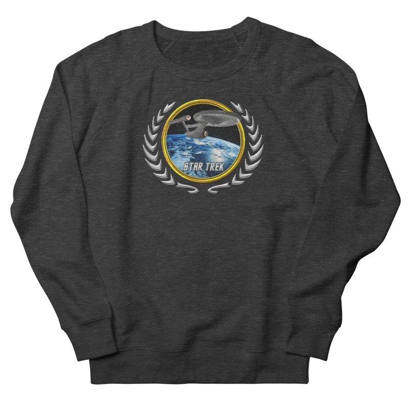 Star trek Federation of Planets Enterprise 1701 old Men's Sweatshirt by ratherkool's Artist Shop