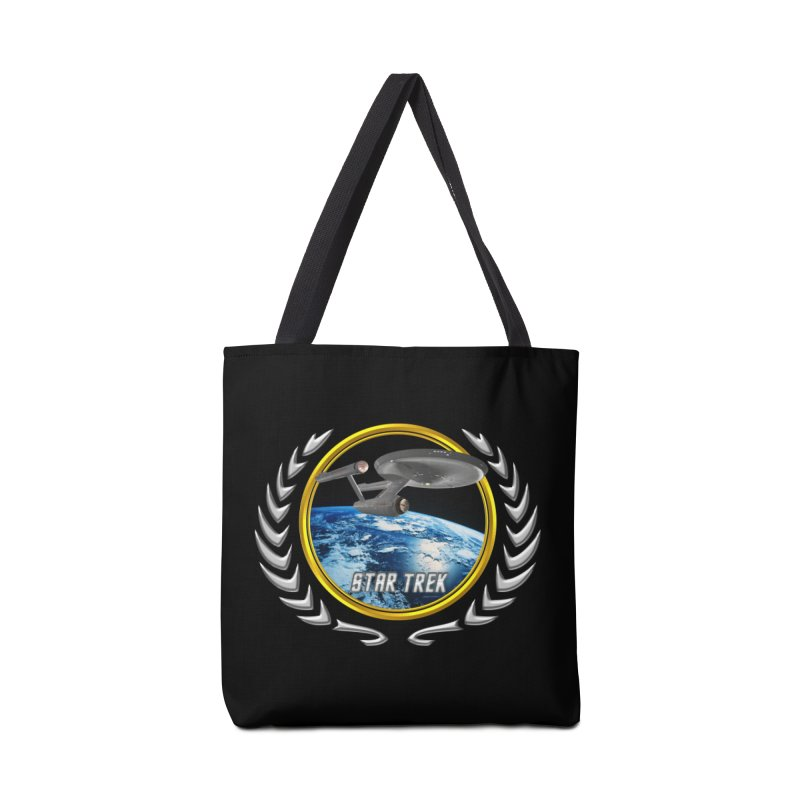 Star trek Federation of Planets Enterprise 1701 old Accessories Bag by ratherkool's Artist Shop
