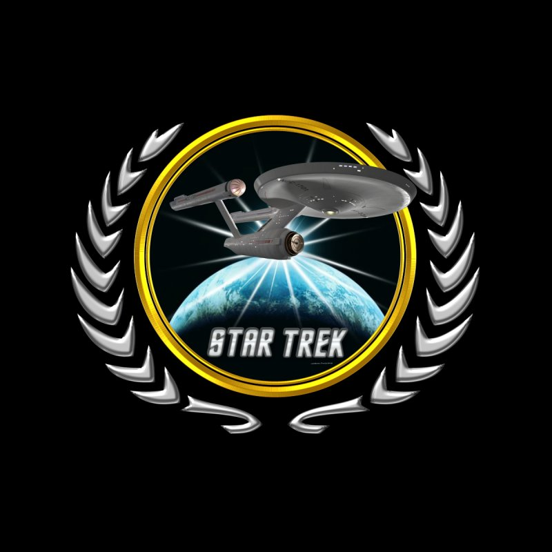 Star trek Federation of Planets Enterprise 1701 old 2 by ratherkool's Artist Shop