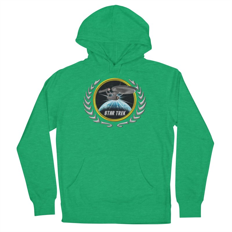 Star trek Federation of Planets Enterprise 1701 old 2 Men's Pullover Hoody by ratherkool's Artist Shop