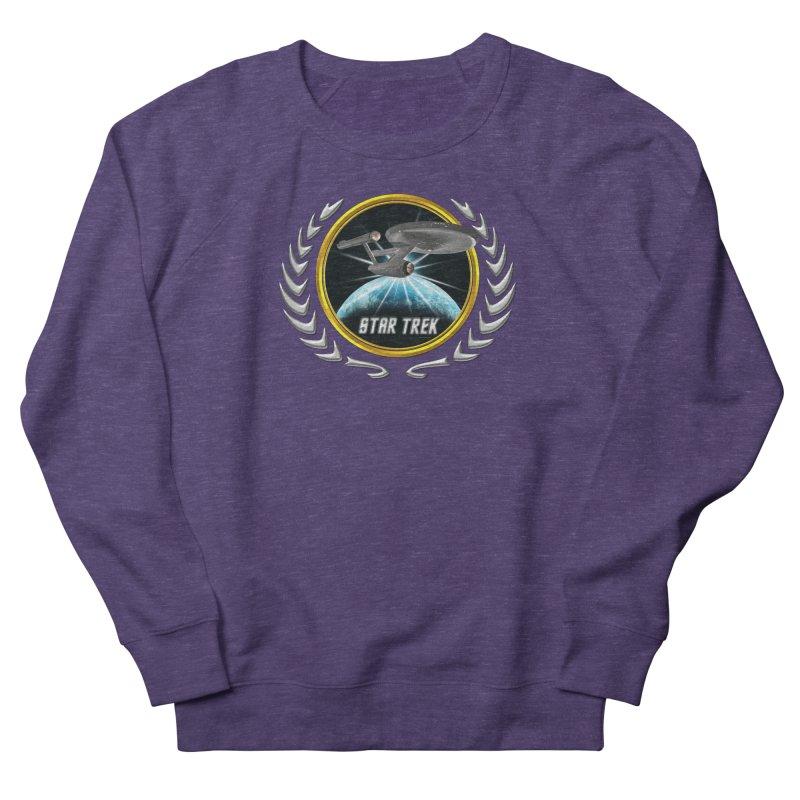 Star trek Federation of Planets Enterprise 1701 old 2 Women's Sweatshirt by ratherkool's Artist Shop