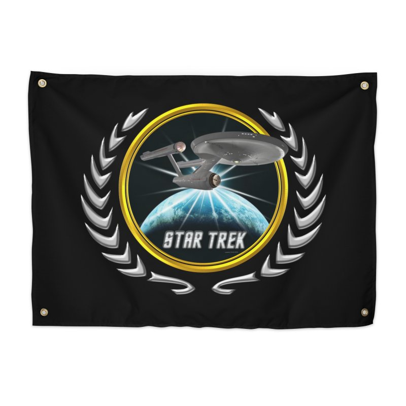 Star trek Federation of Planets Enterprise 1701 old 2 Home Tapestry by ratherkool's Artist Shop