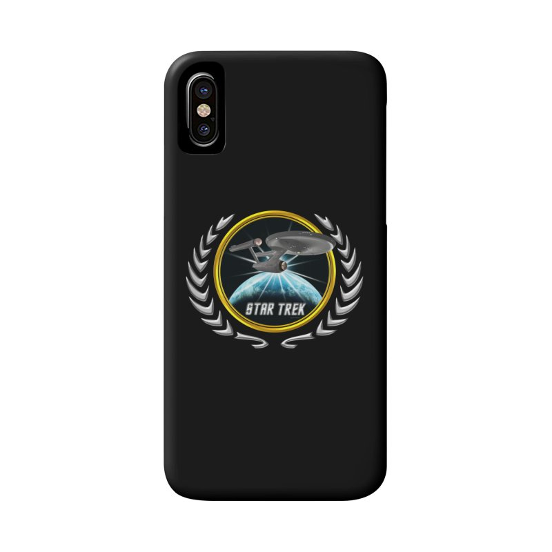 Star trek Federation of Planets Enterprise 1701 old 2 Accessories Phone Case by ratherkool's Artist Shop