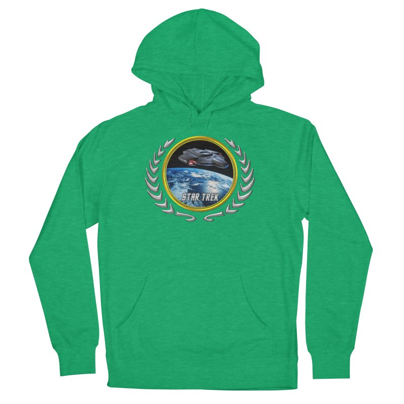 Star trek Federation of Planets defiant Women's Pullover Hoody by ratherkool's Artist Shop