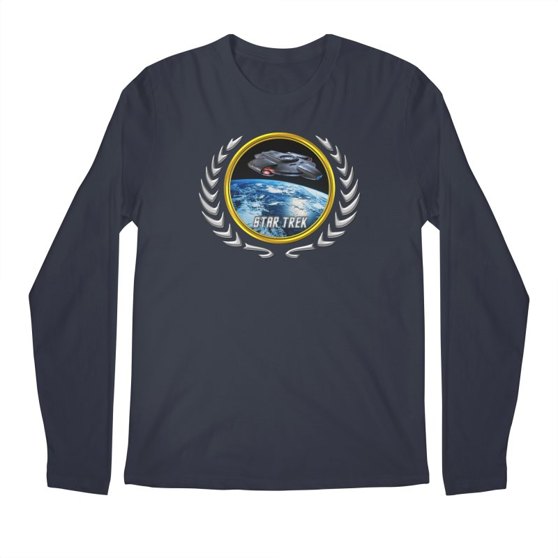 Star trek Federation of Planets defiant Men's Longsleeve T-Shirt by ratherkool's Artist Shop