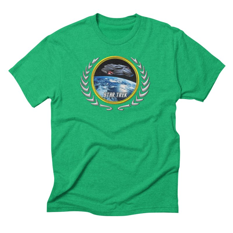 Star trek Federation of Planets defiant Men's Triblend T-Shirt by ratherkool's Artist Shop