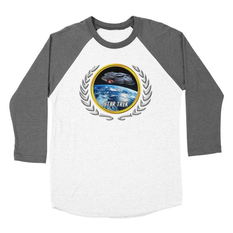 Star trek Federation of Planets defiant Women's Baseball Triblend T-Shirt by ratherkool's Artist Shop