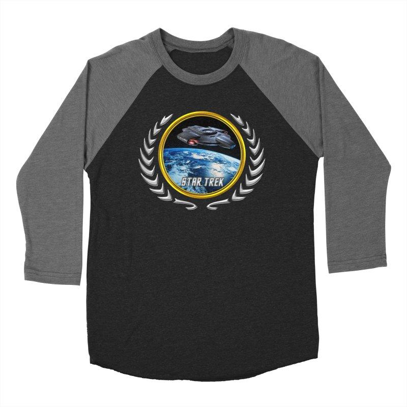 Star trek Federation of Planets defiant Men's Baseball Triblend T-Shirt by ratherkool's Artist Shop