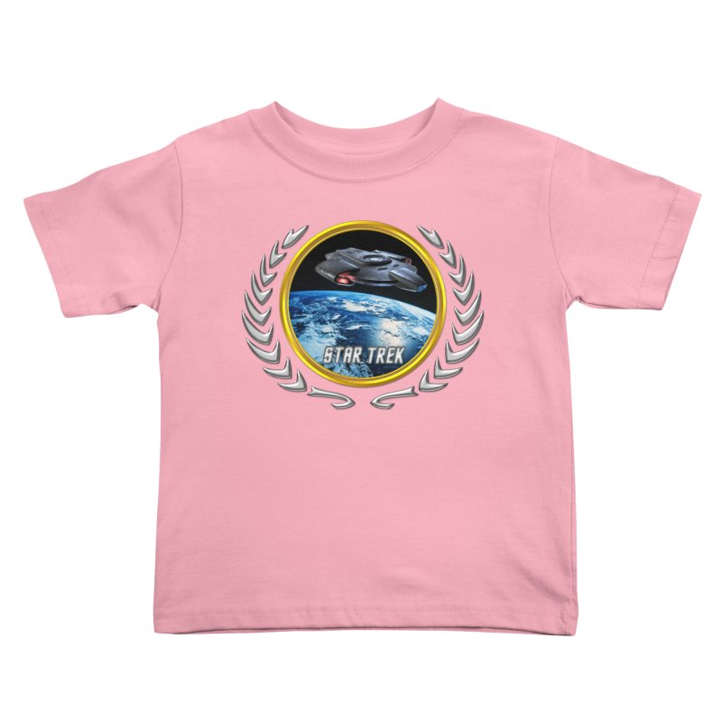 Star trek Federation of Planets defiant Kids Toddler T-Shirt by ratherkool's Artist Shop