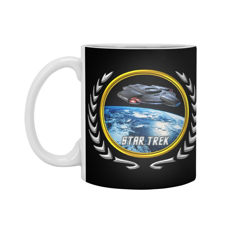 Star trek Federation of Planets defiant Accessories Mug by ratherkool's Artist Shop