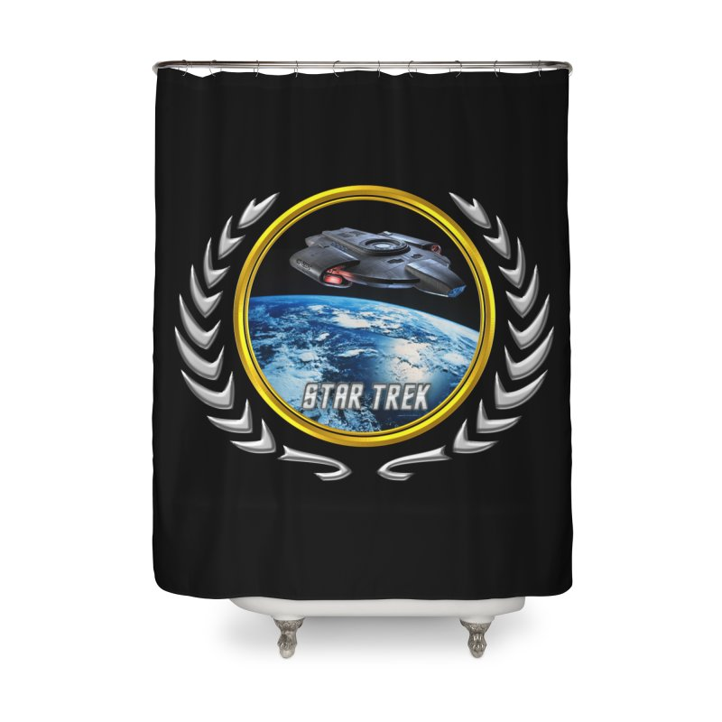Star trek Federation of Planets defiant Home Shower Curtain by ratherkool's Artist Shop