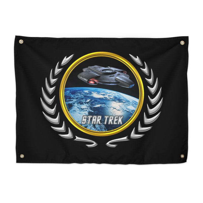 Star trek Federation of Planets defiant Home Tapestry by ratherkool's Artist Shop