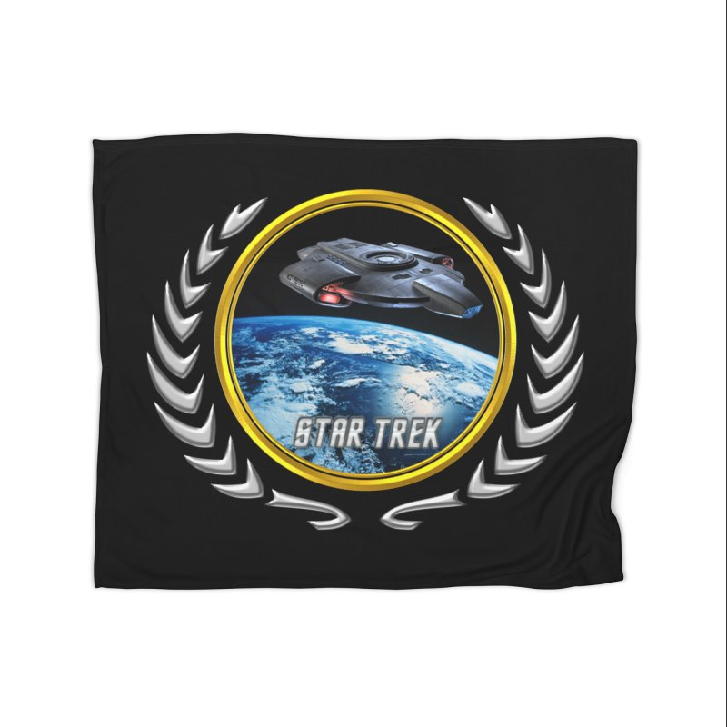 Star trek Federation of Planets defiant Home Blanket by ratherkool's Artist Shop