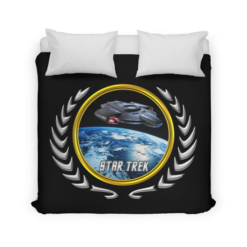 Star trek Federation of Planets defiant Home Duvet by ratherkool's Artist Shop