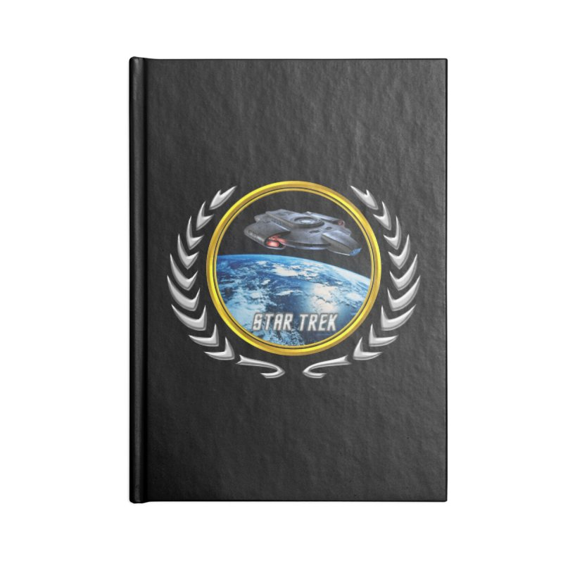 Star trek Federation of Planets defiant Accessories Notebook by ratherkool's Artist Shop