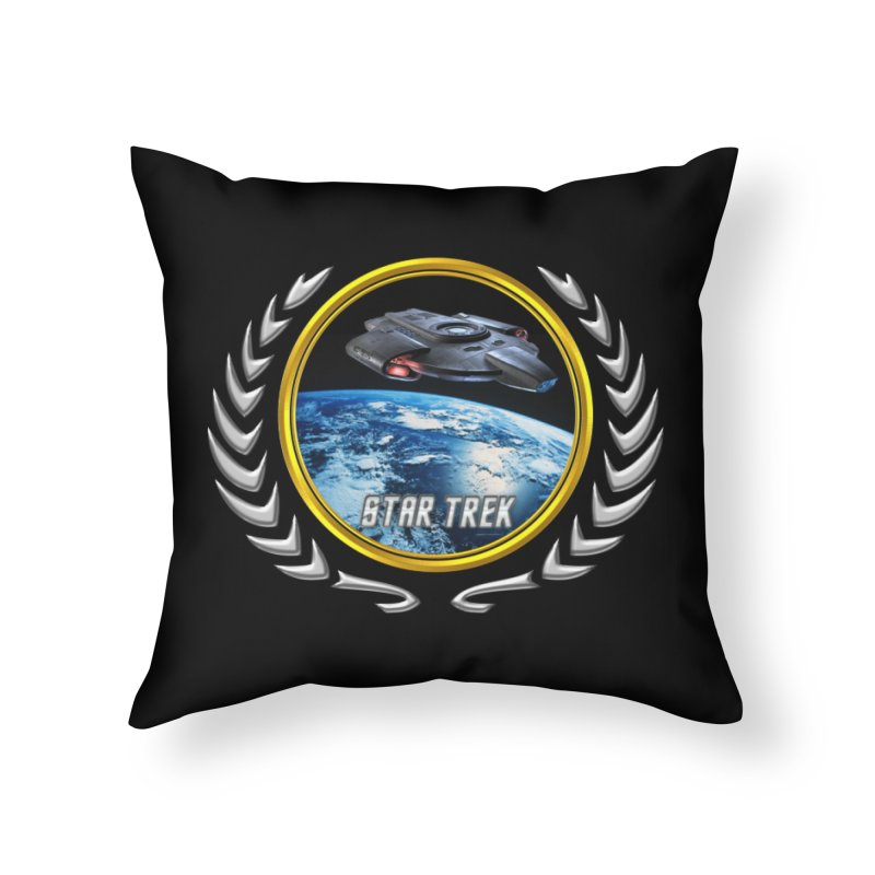 Star trek Federation of Planets defiant Home Throw Pillow by ratherkool's Artist Shop