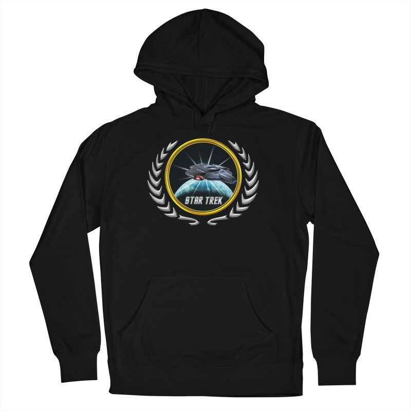 Star trek Federation of Planets defiant 2 Men's Pullover Hoody by ratherkool's Artist Shop