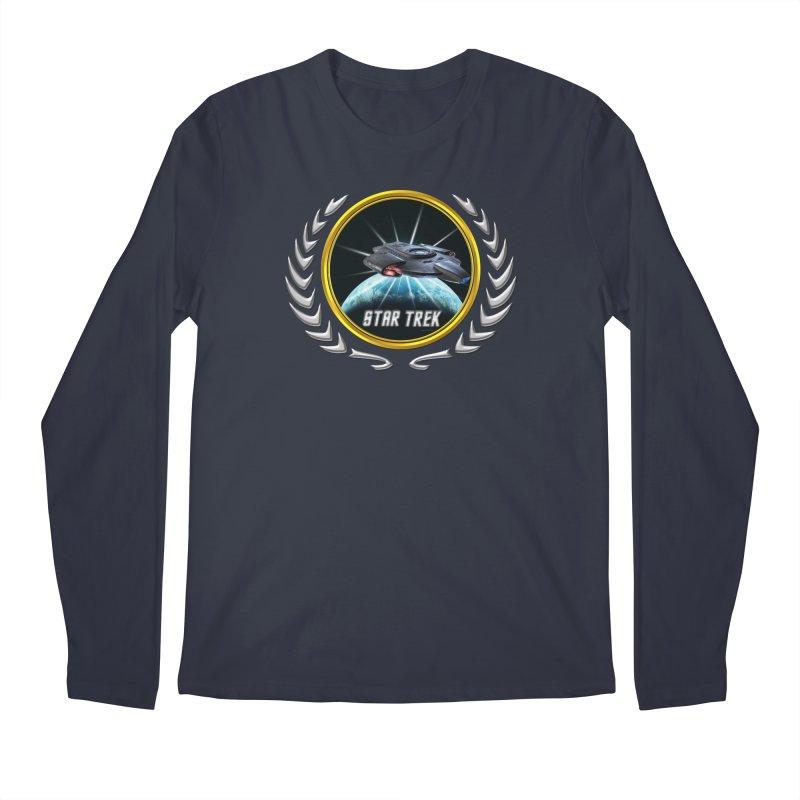 Star trek Federation of Planets defiant 2 Men's Longsleeve T-Shirt by ratherkool's Artist Shop