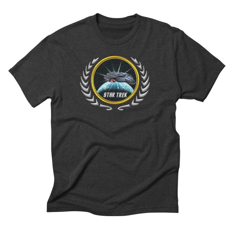Star trek Federation of Planets defiant 2 Men's Triblend T-Shirt by ratherkool's Artist Shop