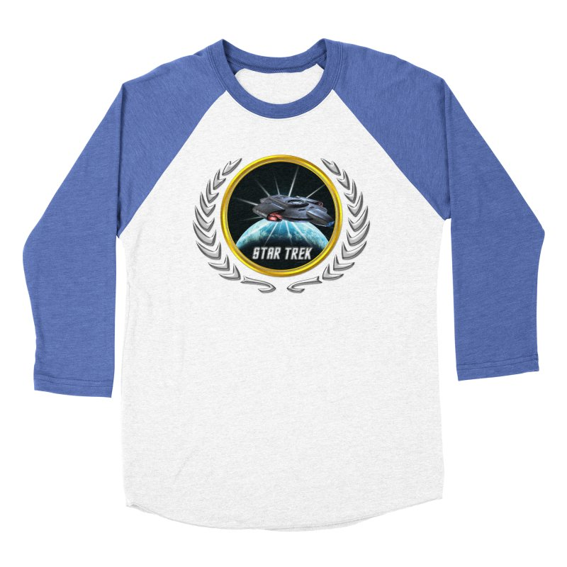 Star trek Federation of Planets defiant 2 Women's Baseball Triblend T-Shirt by ratherkool's Artist Shop