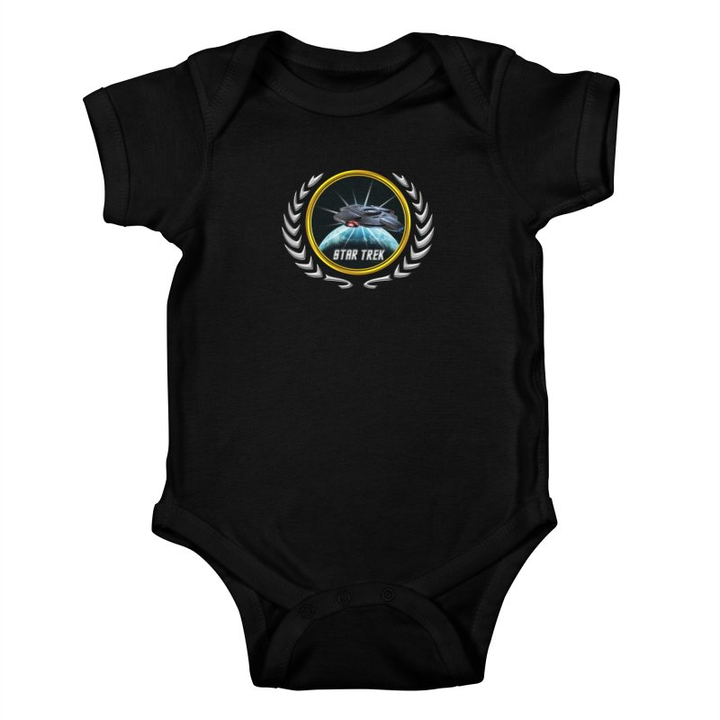 Star trek Federation of Planets defiant 2 Kids Baby Bodysuit by ratherkool's Artist Shop