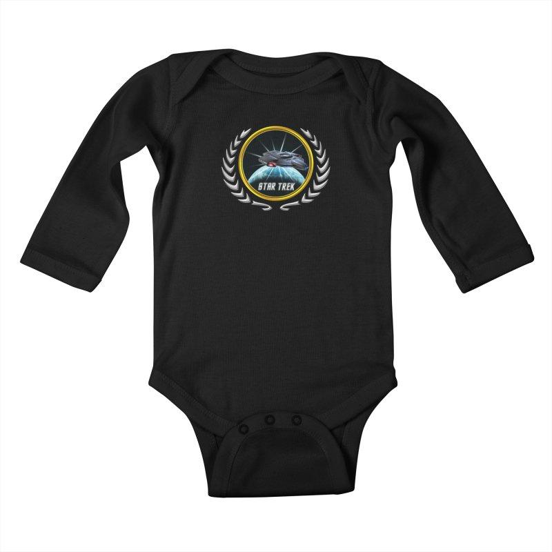 Star trek Federation of Planets defiant 2 Kids Baby Longsleeve Bodysuit by ratherkool's Artist Shop