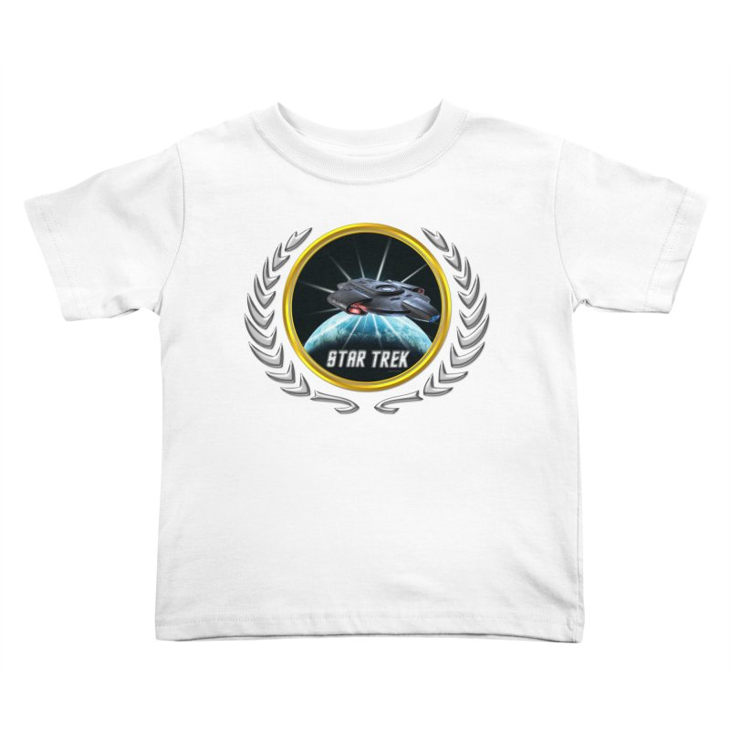 Star trek Federation of Planets defiant 2 Kids Toddler T-Shirt by ratherkool's Artist Shop