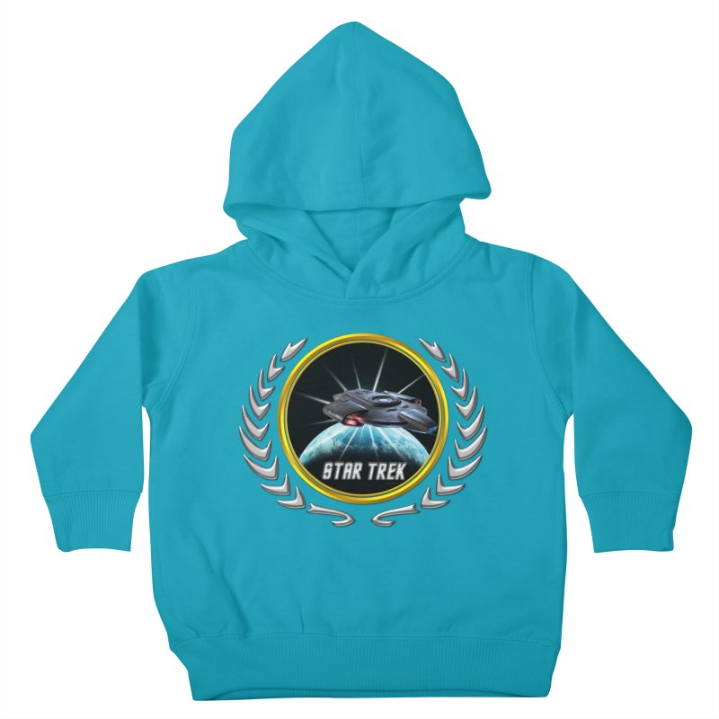 Star trek Federation of Planets defiant 2 Kids Toddler Pullover Hoody by ratherkool's Artist Shop