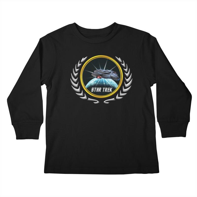 Star trek Federation of Planets defiant 2 Kids Longsleeve T-Shirt by ratherkool's Artist Shop