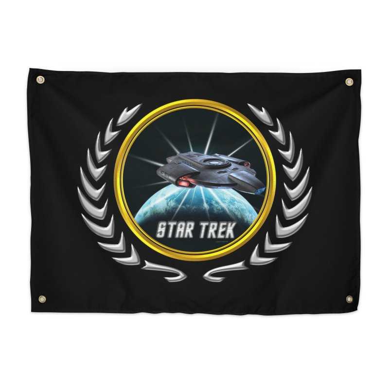 Star trek Federation of Planets defiant 2 Home Tapestry by ratherkool's Artist Shop