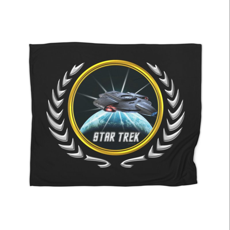 Star trek Federation of Planets defiant 2 Home Blanket by ratherkool's Artist Shop