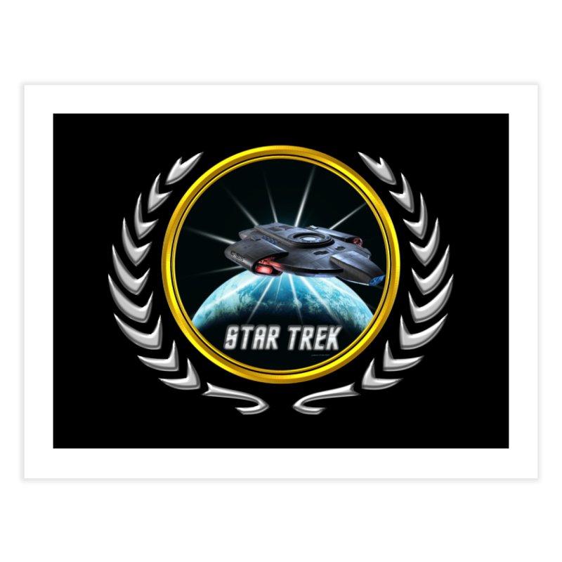 Star trek Federation of Planets defiant 2 Home Fine Art Print by ratherkool's Artist Shop