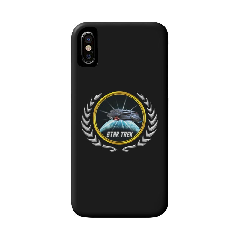 Star trek Federation of Planets defiant 2 Accessories Phone Case by ratherkool's Artist Shop