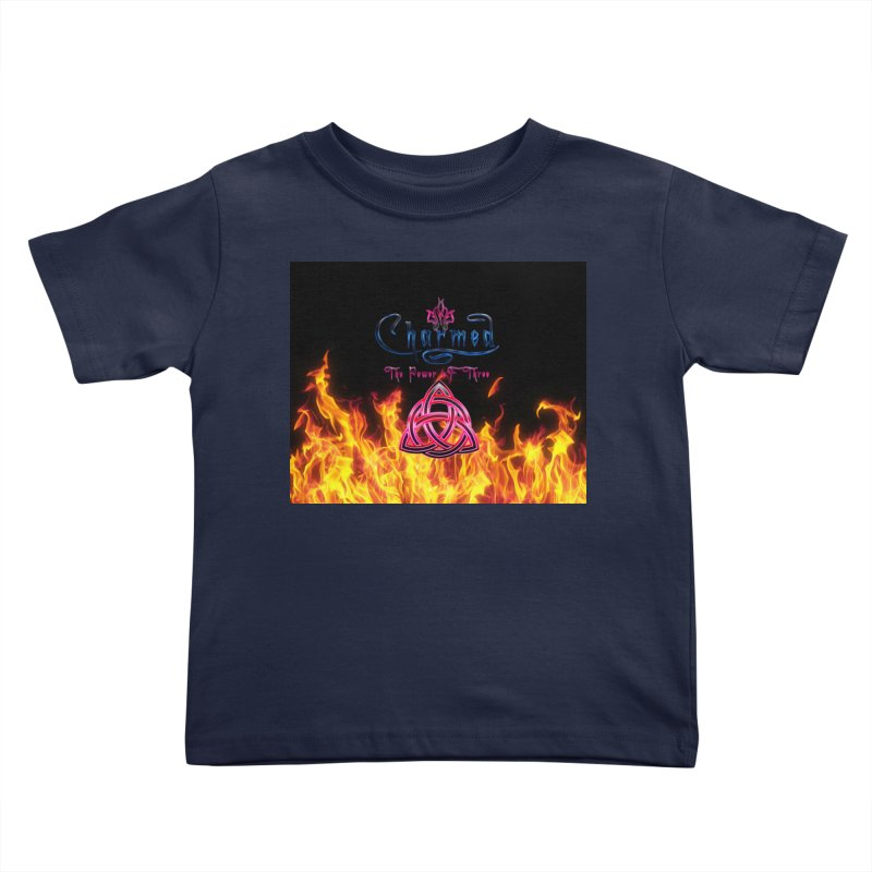 Charmed Holy Fire Triquetra Kids Toddler T-Shirt by ratherkool's Artist Shop
