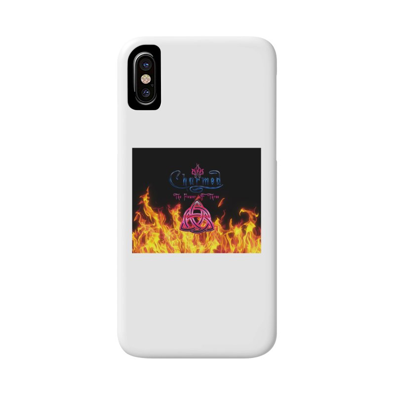 Charmed Holy Fire Triquetra Accessories Phone Case by ratherkool's Artist Shop