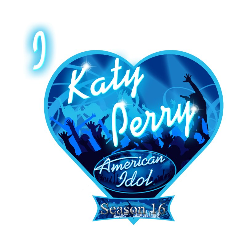 American Idol I Heart Katy Perry L by ratherkool's Artist Shop