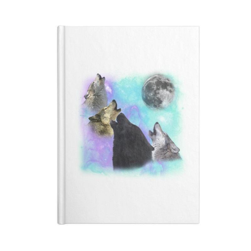 Wolves Coven Emeral night 2 CB Accessories Notebook by ratherkool's Artist Shop