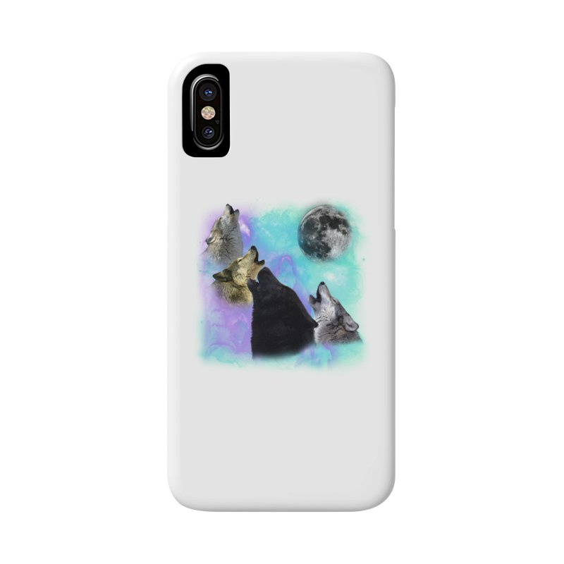 Wolves Coven Emeral night 2 CB Accessories Phone Case by ratherkool's Artist Shop